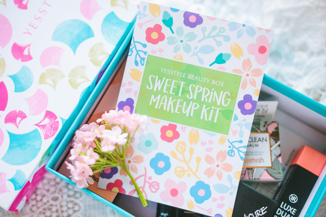 YesStyle Beauty Box – Sweet Spring Makeup Kit | chainyan.co