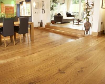 Sàn gỗ tự nhiên sồi trắng dễ kết hợp màu sắc