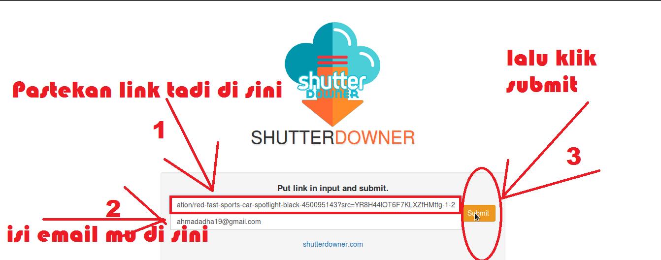 Cara Terbaru Download Gambar Gratis di Shutterstock Tanpa