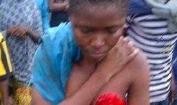 Bad Guys Cut Off This Girl's Breast While She Is Still Alive in Ekiti