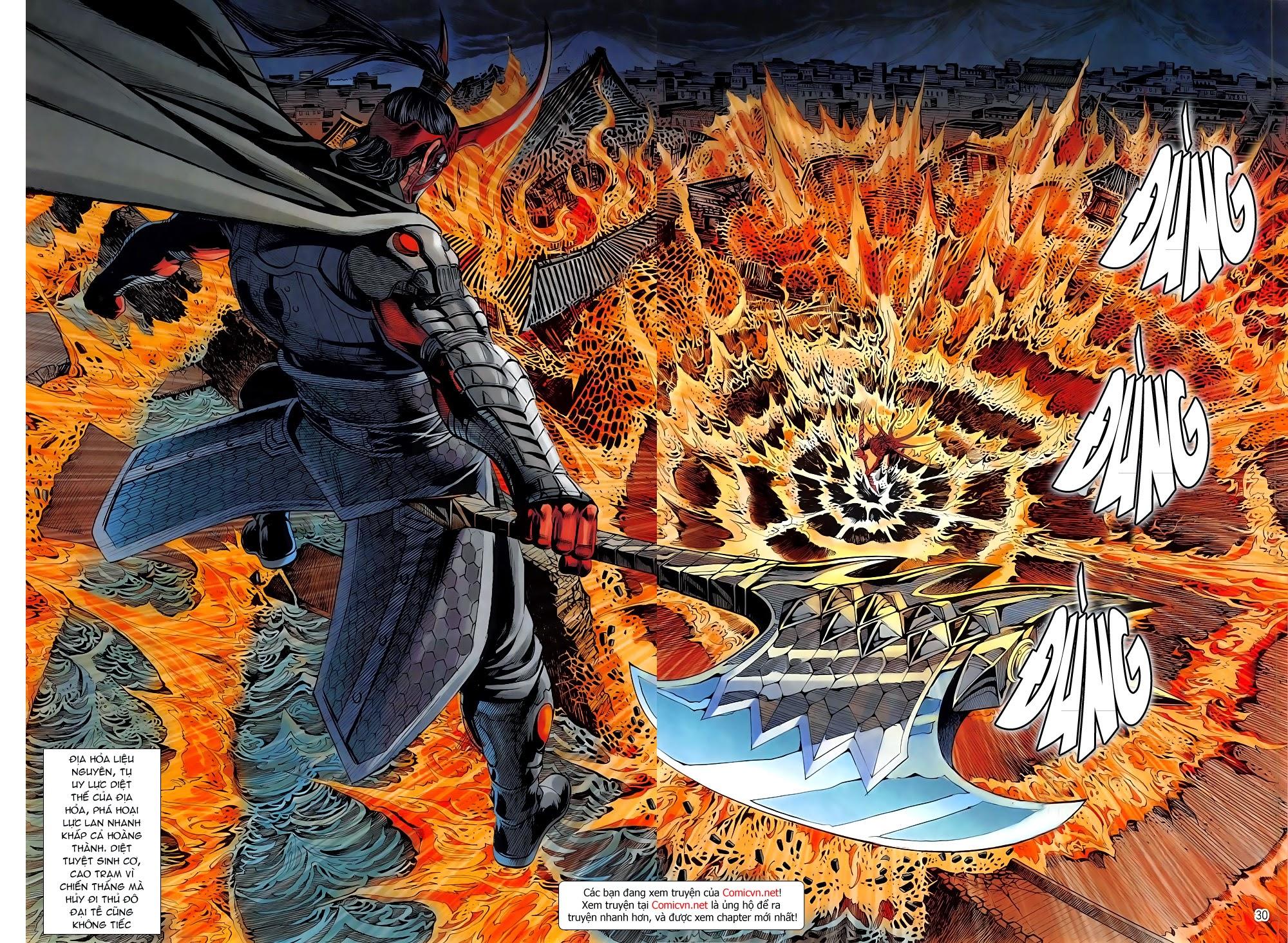 Chiến Phổ chapter 5: lôi hỏa kinh thiên chiến trang 29