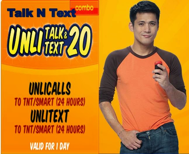 tnt unlicall and text 20 for 1 day T20