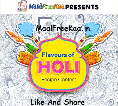 Holi 2019 Festival FOOD Recipe