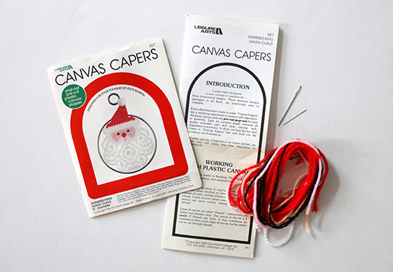 Canvas Capers Santa Needlework Kit by Leisure Arts