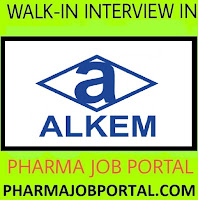 Urgent Vacancy at Alkem Pharma