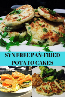 SYN FREE PAN-FRIED POTATO CAKES