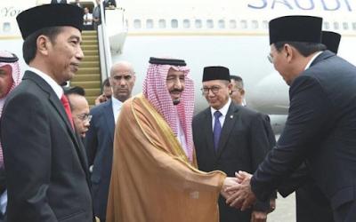 Raja Salman Yang Santun Serta Tuan Rumah Yang Bodoh