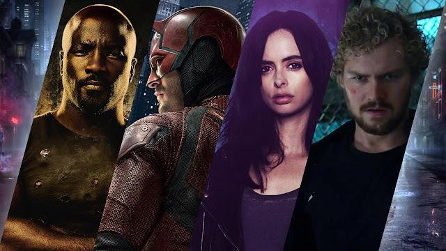 Os Defensores Marvel Netflix