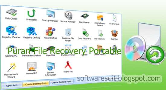 TÉLÉCHARGER PURAN FILE RECOVERY