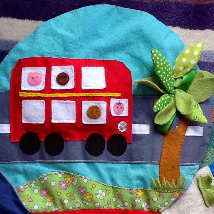 Peekaboo Make And Do Baby Play Mat