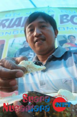 "Buah Durian Lokal ""Si Boneng"" Songgon Banyuwangi Dinilai Unik Tanpa Biji"