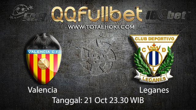 Prediksi Bola Jitu Valencia vs Leganes 21 September 2018 ( Spanish La Liga )