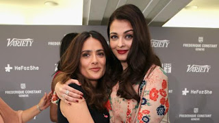 Aishwarya Rai And Salma Hayek Together