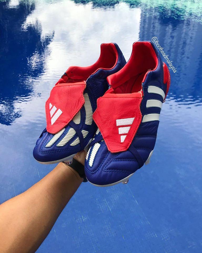 Japan Blue Adidas Predator Mania 2002 2020 Remake Boots