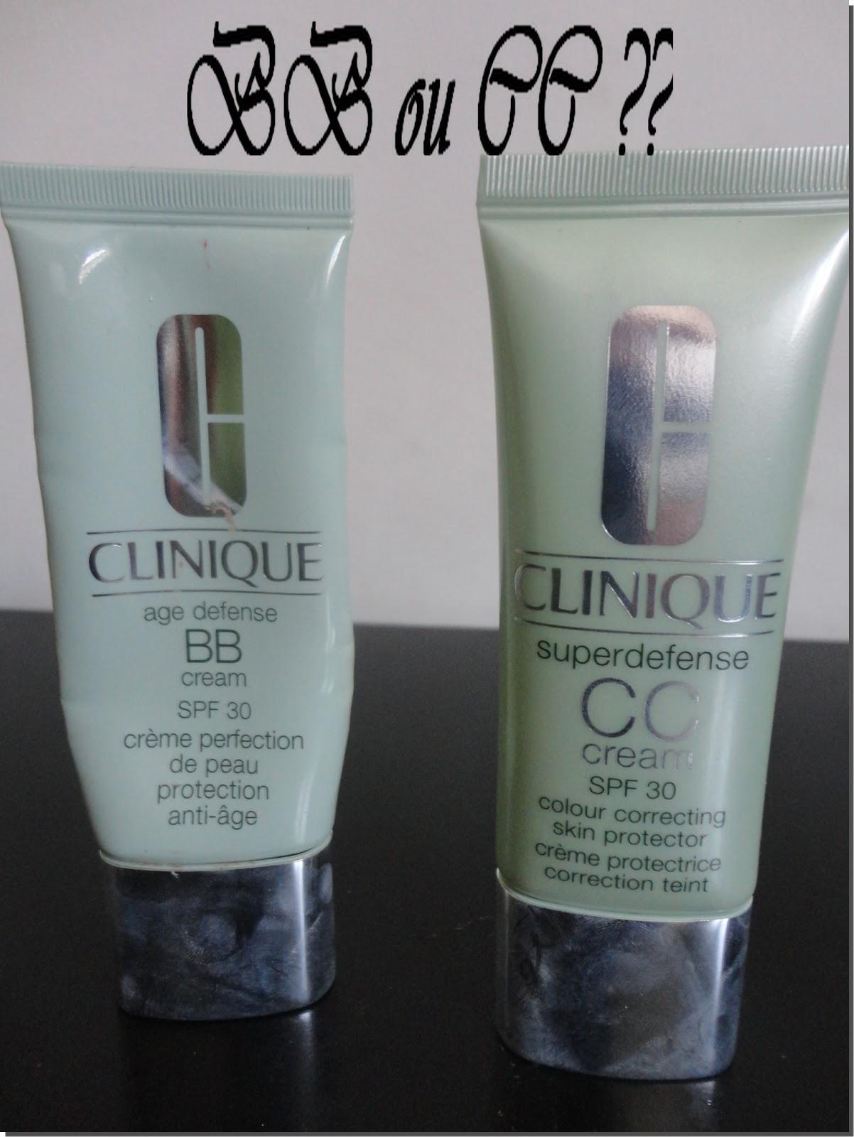 my beauty 39 s world bb cream vs cc cream de clinique. Black Bedroom Furniture Sets. Home Design Ideas