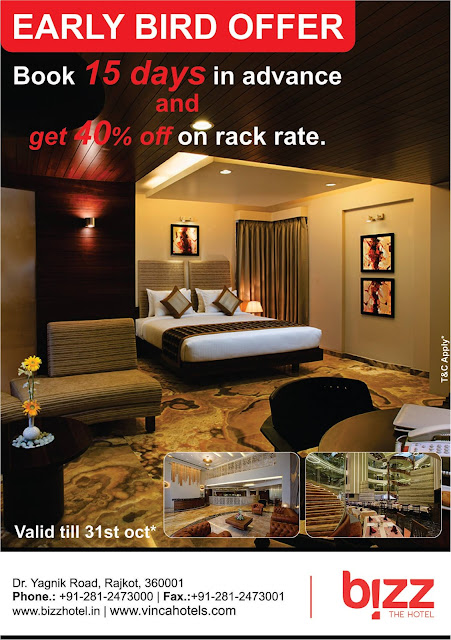 Bizz The Hotel Rajkot - Befikar book kar