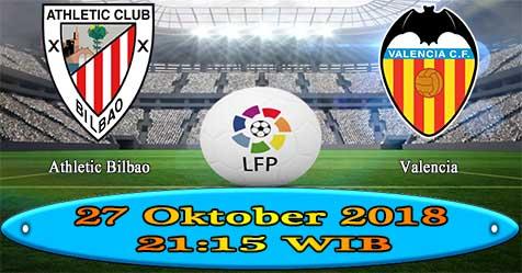 Prediksi Bola855 Ath Bilbao vs Valencia 27 Oktober 2018
