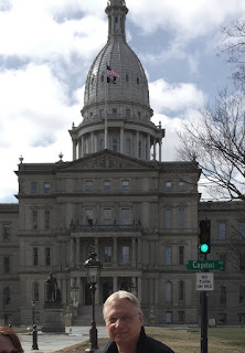 Image of Michigan's capitol building in Lansing