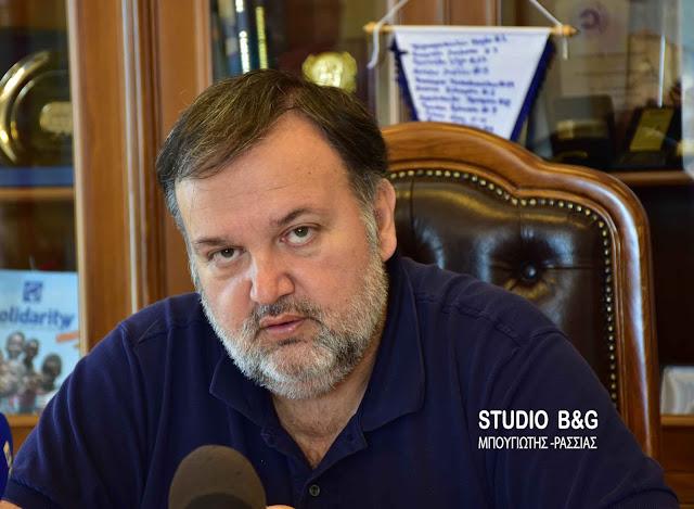 Τ. Χειβιδόπουλος: Η ανακοίνωση του Δήμου Άργους Μυκηνών προσπαθεί μάταια να πλήξει την δημόσια εικόνα μου και να με «εκθέσει»