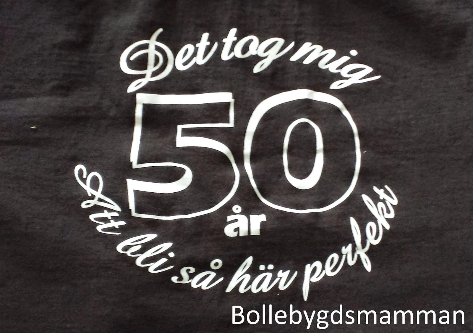 50 års rim kvinna
