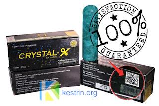 crystal x asli garansi 100%