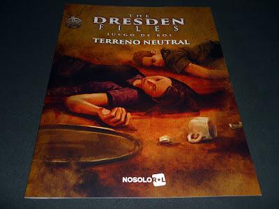 Rápido vistazo a Terreno Neutral para Dresden Files, aventura promocional