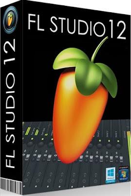 Aplicativo FL Studio 12.1.2 Producer Edition x32 e x64-Bits Box Capa