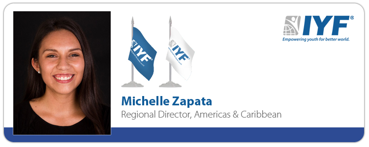 Michelle Zapata, IYF Regional Director, Americas & the Caribbean
