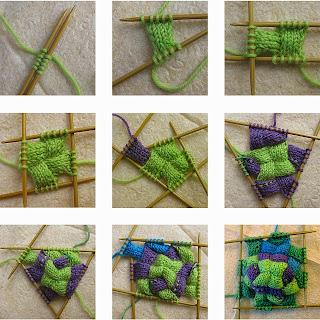 Renkli Yün Çorap Yapımı - Resimli Anlatım