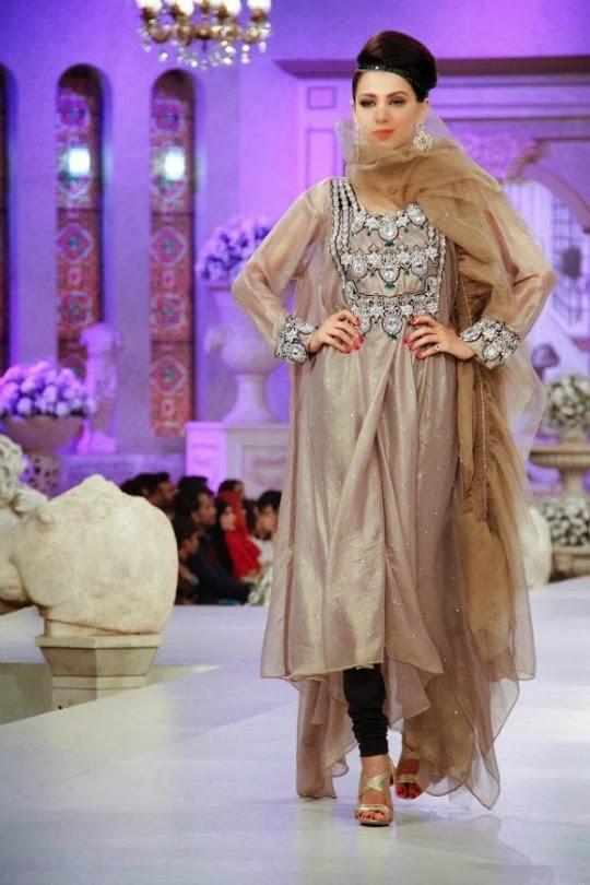 style xee pakistani designer ruby shakeel winter bridal. Black Bedroom Furniture Sets. Home Design Ideas