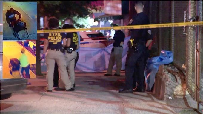 Un hombre cargaba la cabeza de un decapitado en carrito de compras por calles de El Bronx