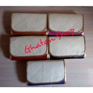 Harga Clutch Bag, Clutch Pandan, Clutch Ayaman Murah  Tasikmalaya