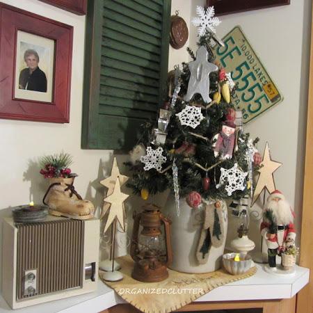Christmas Corner Vignette