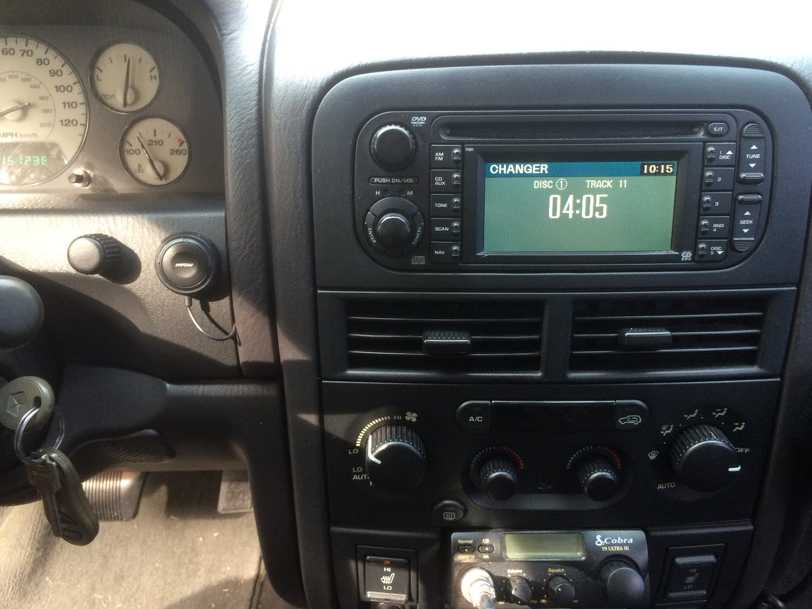 keep the stock radio nav unit and add an aux input and bluetooth adapter for [ 1600 x 1200 Pixel ]