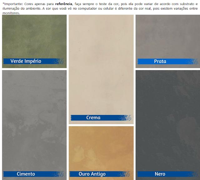 Como fazer parede de cimento queimado. Mistura pronta Faça Você Mesma. Blog Achados de Decoração