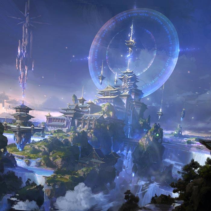 Portal 2 Live Wallpaper: Fantasy World