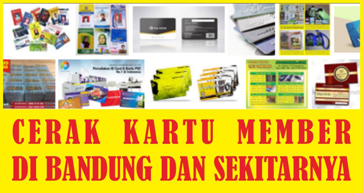 Cetak Member Card di Bandung dan Sekitarnya | Id Card Design