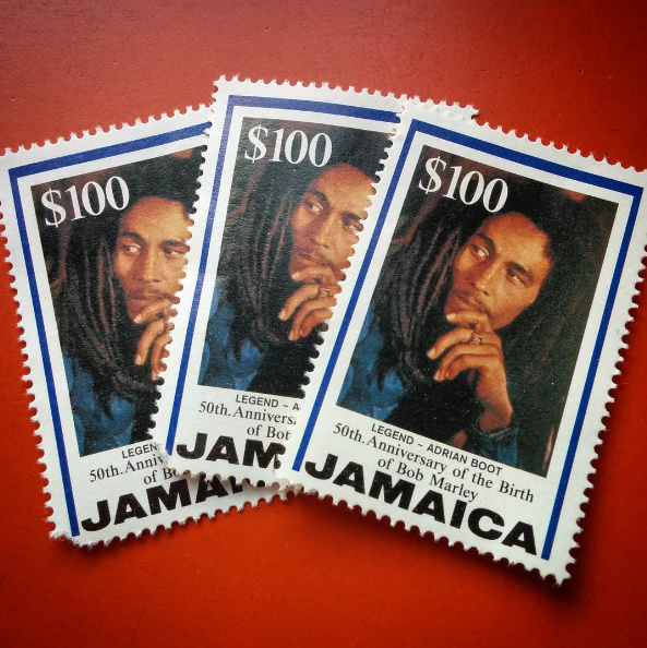 Bob Marley stamps