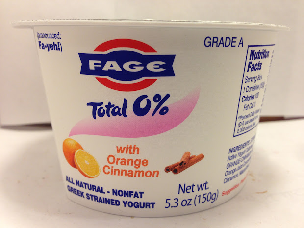 Crazy Food Dude Fage Total 0 With Orange