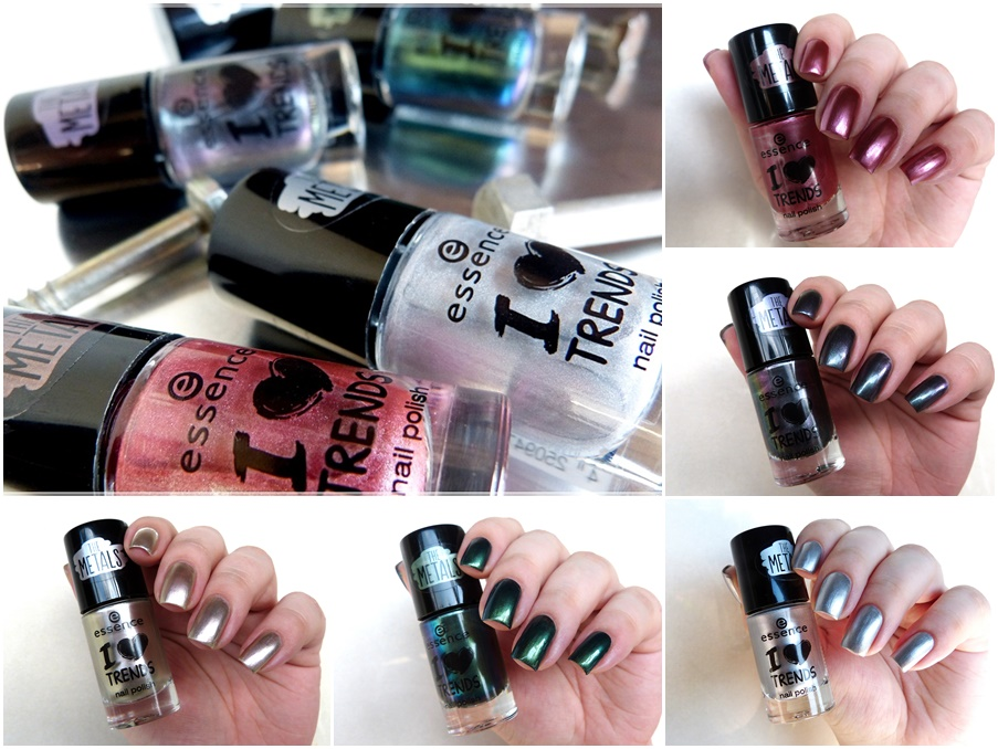 essence the metals i love trends nail polishes