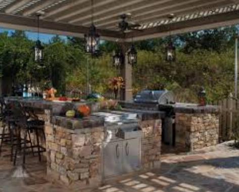 Contoh Desain Interior Dapur Outdoor