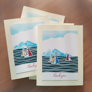 Lilypad Lake thank you cards