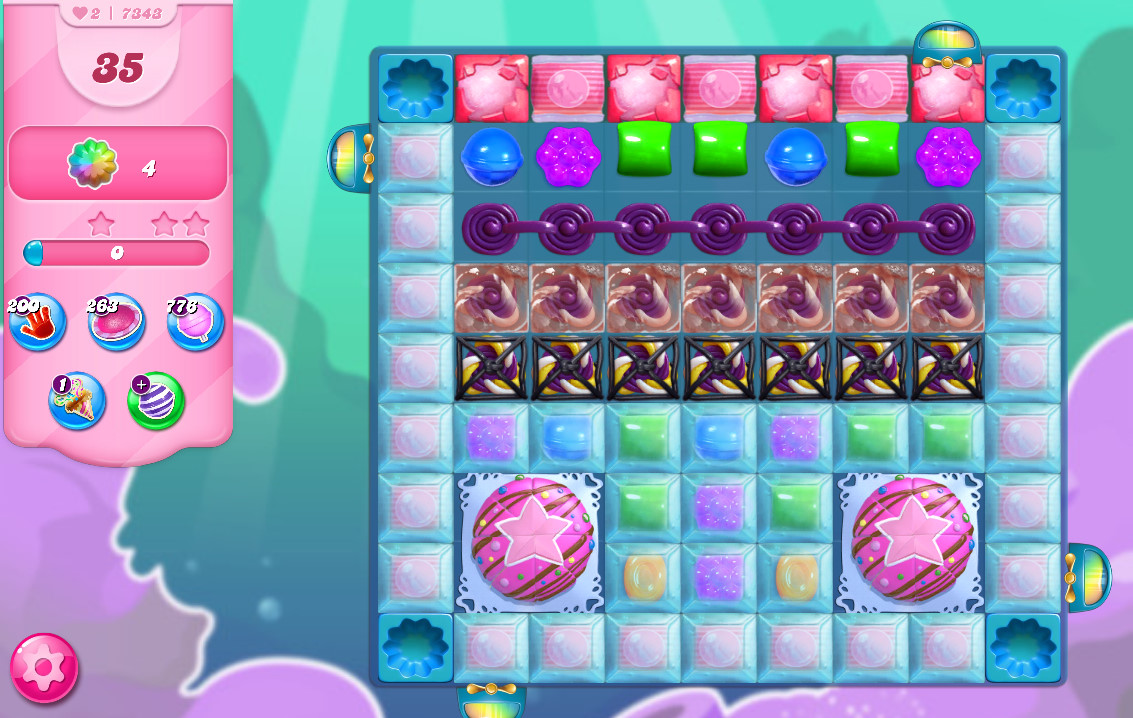 Candy Crush Saga level 7343