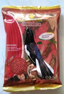 Khasiat/Manpaat Dan Harga Terbaru Pakan Burung Gold Coin Bird Food Classic Saat Ini