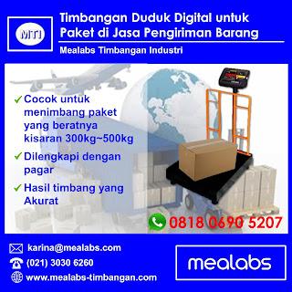 Timbangan Duduk Digital / Timbangan Paket