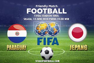 Prediksi Bola Paraguay vs Jepang 12 Juni 2018