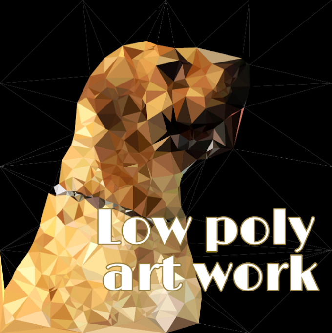 How to create Lowpoly art without photoshop.How to create Lowpoly background & photo.