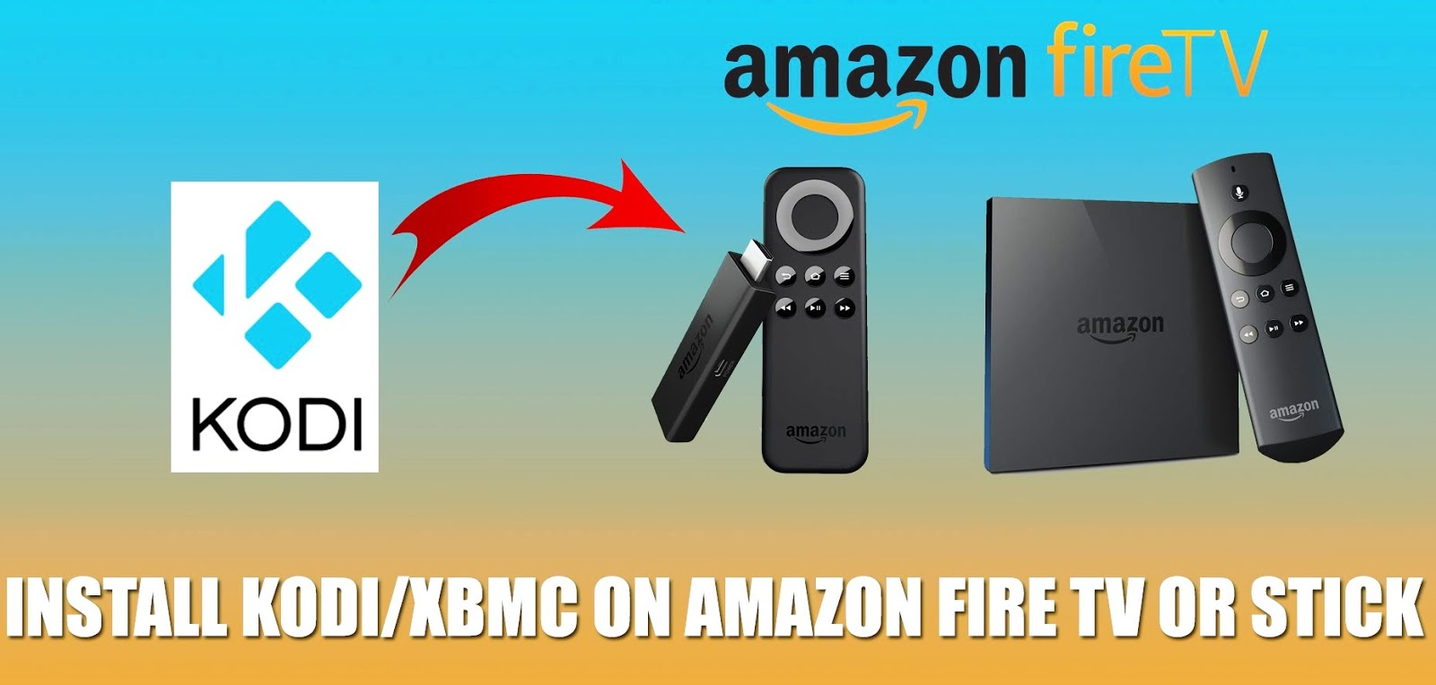 How to install kodi on a fire stick how to install kodi on firetv stick how to connect amazon fire stick