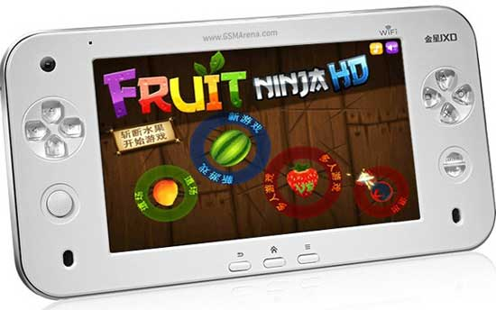android tablet with playstation gaming pad