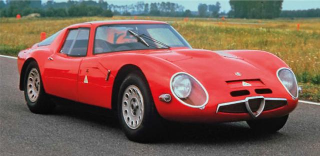 Alfa Romeo TZ2, classic cars